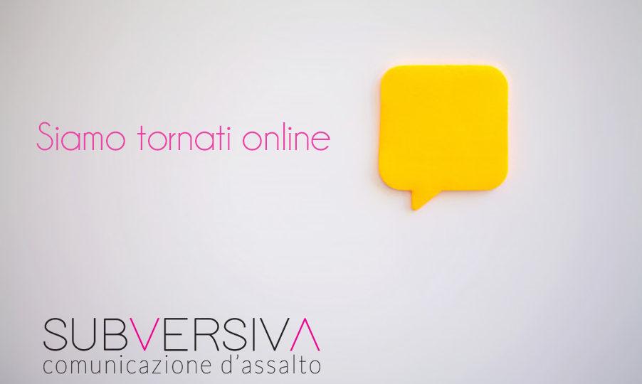 Siamo online